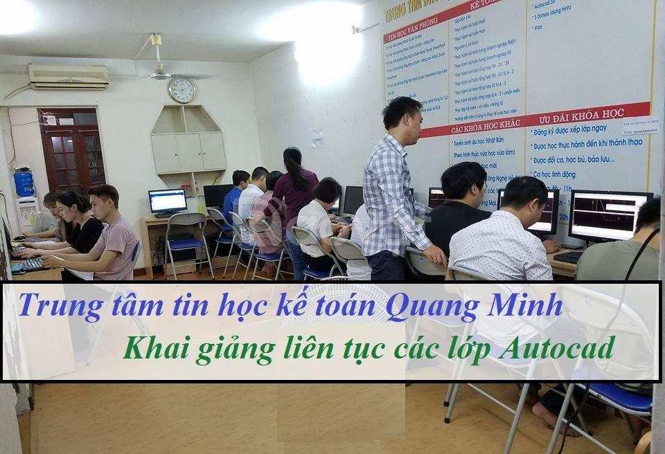 Học autocad 2d 3d chất lượng