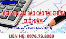 Dịch vụ kế toán thuế trọn gói quý, báo cáo tài chính năm