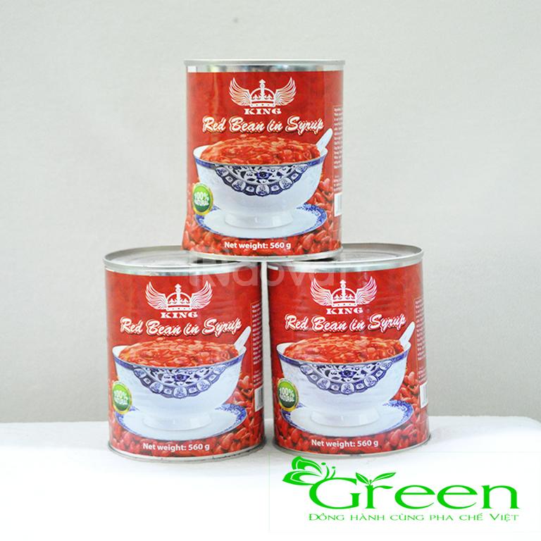 Nguyên liệu pha chế - đậu đỏ Thái Lan King