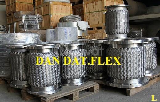 Khớp chống rung inox kết nối mặt bích - Khớp nối mềm fl100