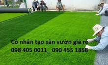 Cỏ nhân tạo cỏ giả 2cm giá rẻ