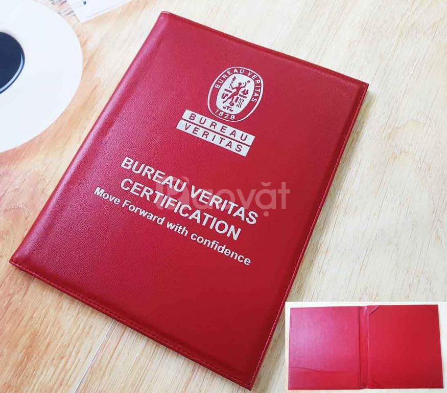Bìa đựng bằng tốt nghiệp bằng da theo yêu cầu, cao cấp, giá rẻ (ảnh 4)