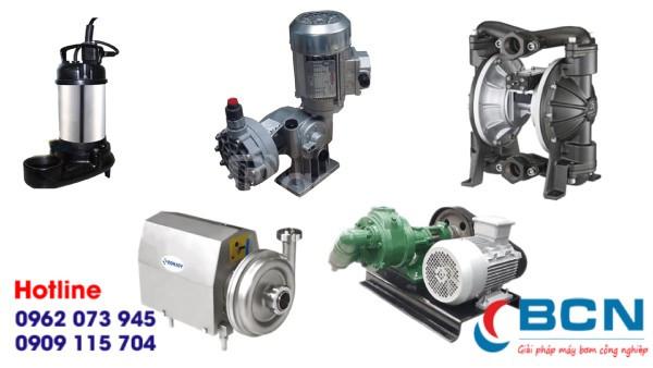 Các loại máy bơm nước thải trong công nghiệp