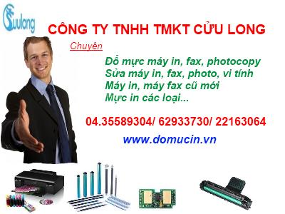 Đổ mực máy in Panasonic giá rẻ tại Hà Nội (ảnh 1)