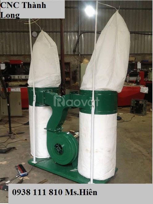 Máy hút bụi công nghiệp 2.2kw, máy cnc đục gỗ