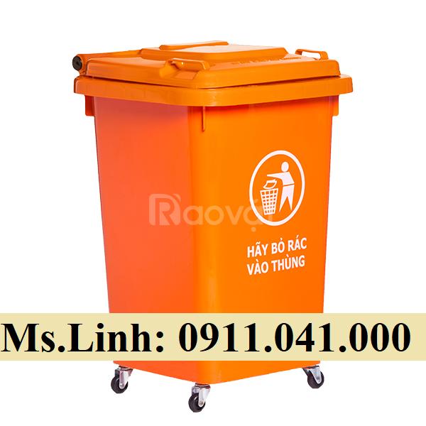 Báo giá thùng rác công cộng 120l, 240l giá rẻ bất ngờ