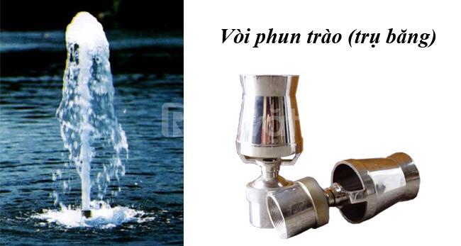 Vòi phun hồ nước nghệ thuật - vũ điệu của nước
