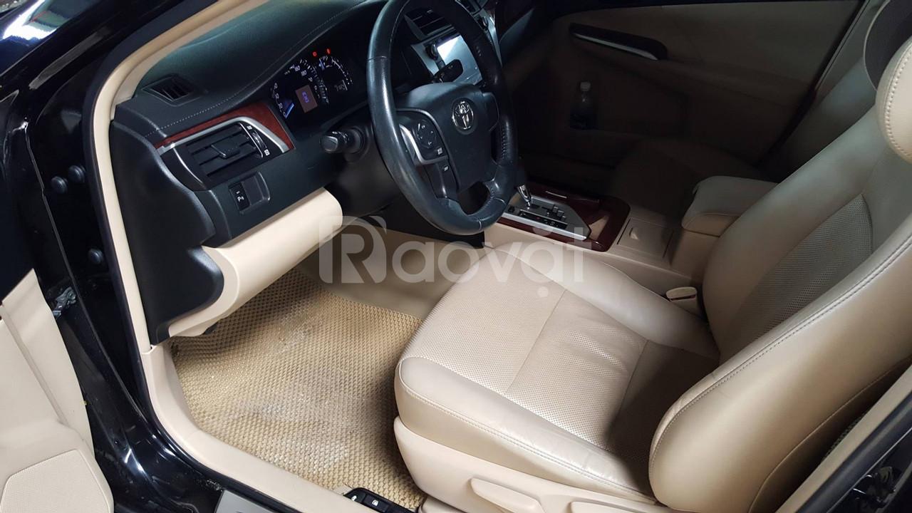 Em bán Toyota Camry 2012 màu đen vip, xe cọp nhà (ảnh 3)