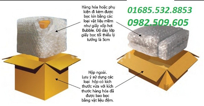 Bán túi xốp hơi, xốp bóp nổ giá rẻ tại Đồng Nai