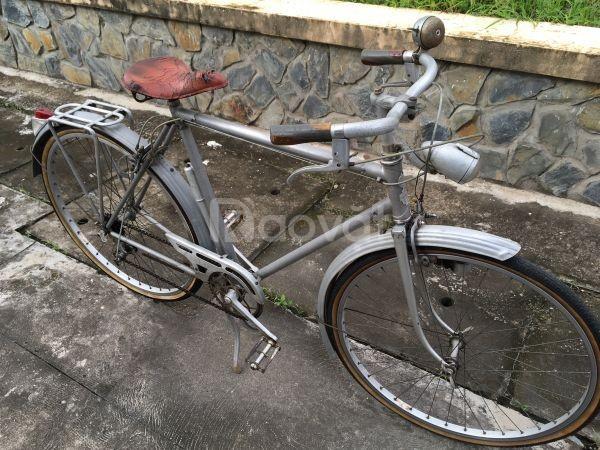 Cần bán xe đạp nhôm cổ của Pháp hiệu Duaralumin zin rắc co bông (ảnh 6)