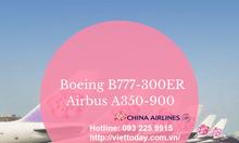 Khuyến mãi hãng China Airlines