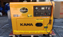Giá máy phát điện Kama KDE6500T-5kw chạy dầu cách âm nhập khẩu?