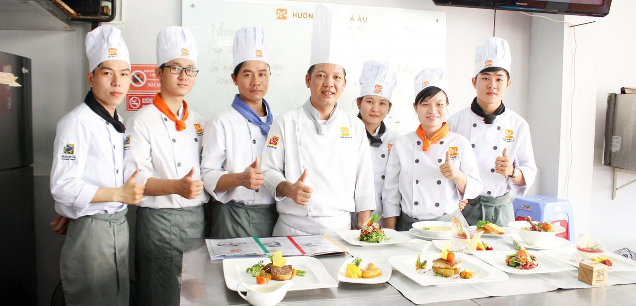 Địa chỉ học nấu ăn theo chuyên đề mở quán