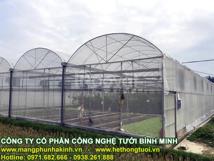 Lưới chắn côn trùng nhà kính, lưới làm nhà lưới, cách làm nhà lưới