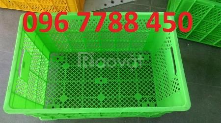 Bán rổ nhựa công nghiệp loại lớn giá rẻ toàn quốc (ảnh 1)