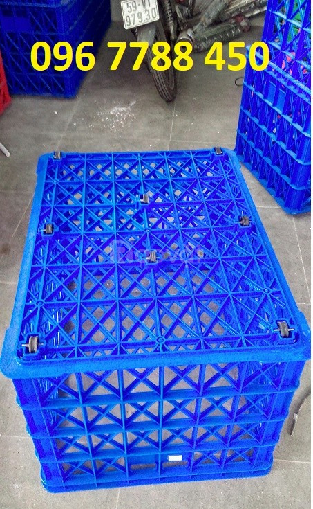 Bán rổ nhựa công nghiệp loại lớn giá rẻ toàn quốc (ảnh 5)