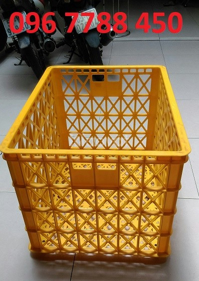 Bán rổ nhựa công nghiệp loại lớn giá rẻ toàn quốc (ảnh 6)