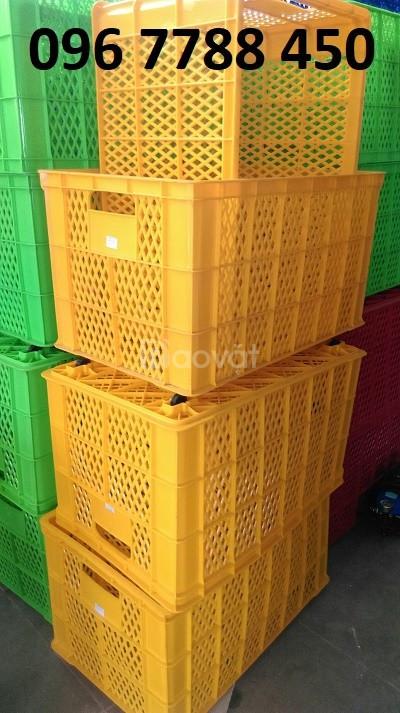 Bán rổ nhựa công nghiệp loại lớn giá rẻ toàn quốc (ảnh 8)