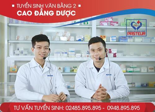 Tuyển sinh văn 2 cao đẳng Dược Hà Nội