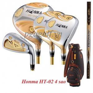 Bộ gậy golf chính hãng Honma HT-02 4 sao giá mềm gậy tốt