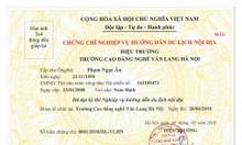 Học nghiệp vụ hướng dẫn viên tại Đà Nẵng