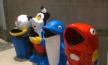 Thùng rác chim cánh cụt thùng rác chuột mickey thùng rác composite