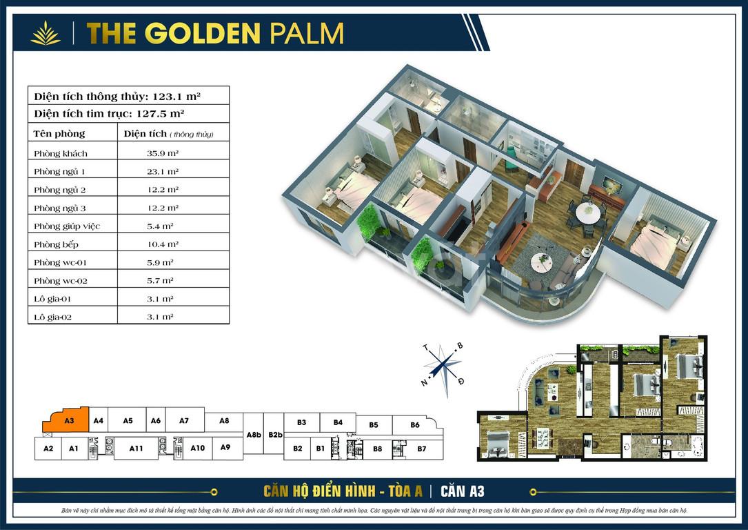 Golden Palm mở bán 50 căn hộ đợt cuối, giá từ 32 tr/m2, CK tới 500tr (ảnh 6)