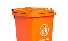 Bán thùng rác nhựa HDPE giá rẻ 120l, 240l, 660l