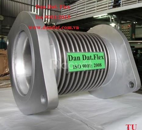 Ống chống rung inox/ khớp nối mềm kết nối mặt bích (ảnh 4)