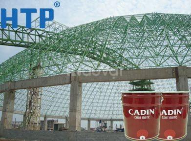 Địa chỉ bán sơn chống rỉ Cadin màu đỏ cho sắt thép giá rẻ