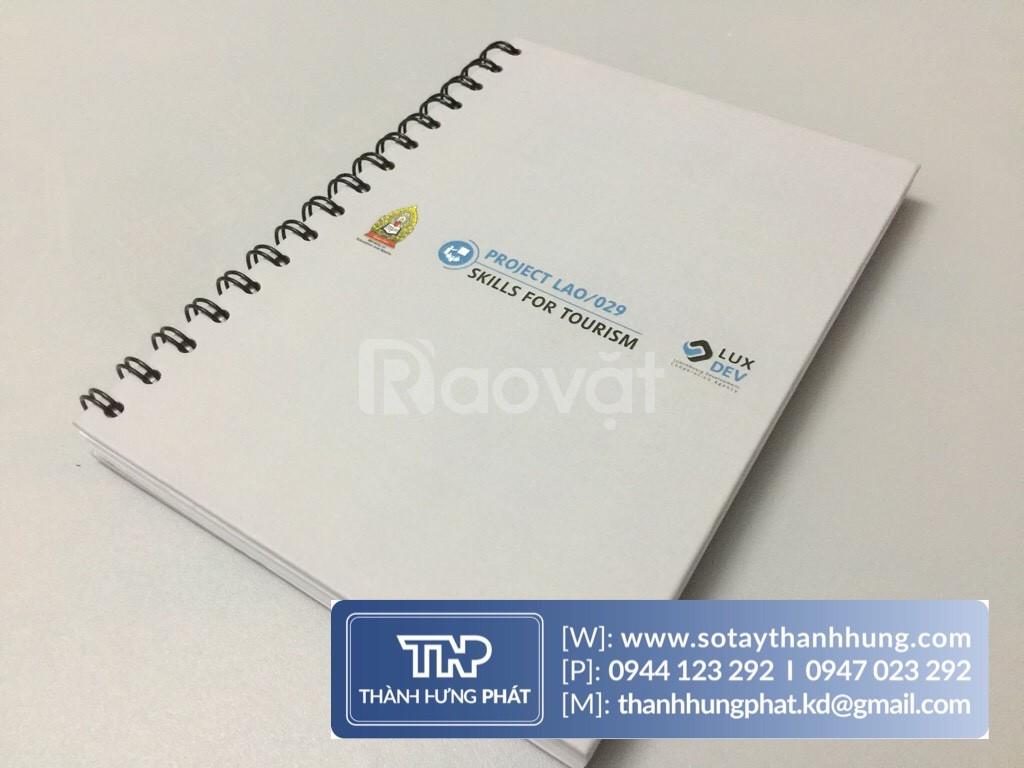 Thiết kế sổ tay văn phòng báo giá in sổ tay in sổ tay theo yêu cầu