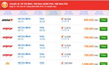 Khuyến mãi vé máy bay đi Vinh,Nghệ An,Hà Tĩnh