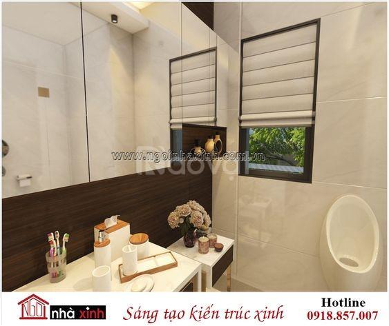 Thiết kế nội thất phòng tắm đẹp ngôi nhà xinh