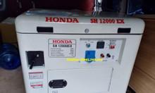 Máy phát điện Honda SH 12000EX,10kva thùng cách âm chạy xăng