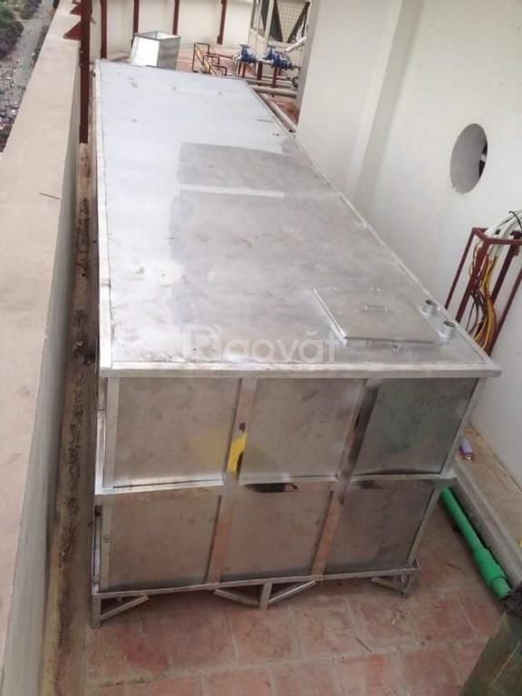 Bể nước ngầm inox 304 Sơn Hà kích thước theo yêu cầu