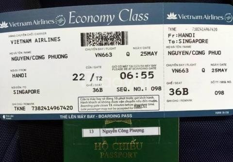 Khuyến mãi Singapore Airlines