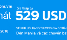 Khuyến mãi cùng Philippine Airlines
