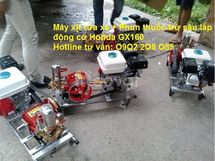 Bán máy phun thuốc trừ sâu Honda GX200 chính hãng giá rẻ