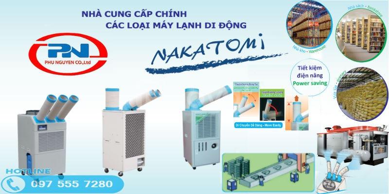 Máy làm mát điểm Nakatomi SAC-4500