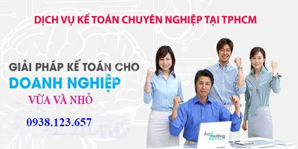 Dịch vụ kế toán trọn gói giá rẻ tại TPHCM