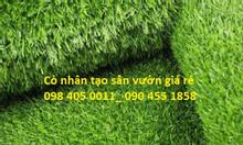Cỏ nhựa nhân tạo, cỏ giả, cỏ sân vườn, cỏ trang trí