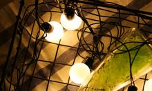 Đèn pingpong light - Dây đèn trang trí bóng tròn