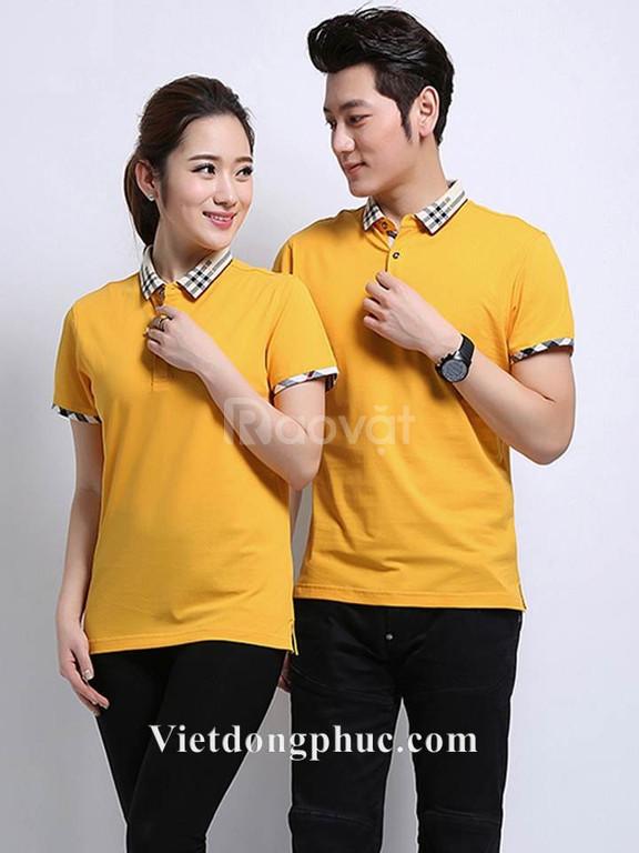 Áo phông đồng phục giá rẻ in áo phông nhóm theo yêu cầu (ảnh 4)