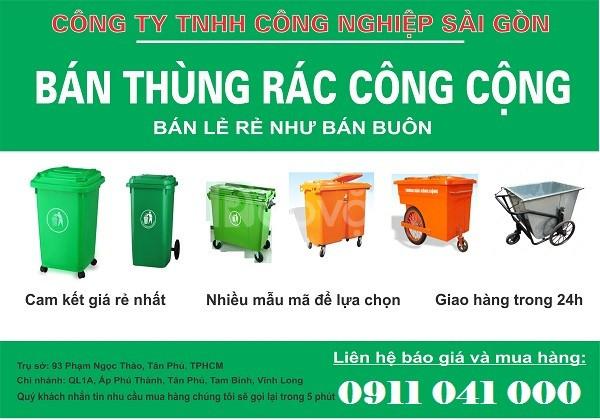 Buôn bán thùng rác 120l, 240l không qua trung gian