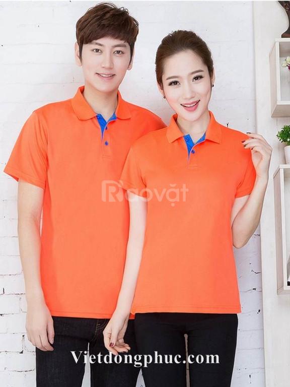 Áo phông đồng phục giá rẻ in áo phông nhóm theo yêu cầu (ảnh 5)