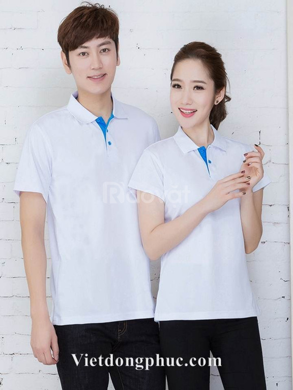 Áo phông đồng phục giá rẻ in áo phông nhóm theo yêu cầu (ảnh 7)