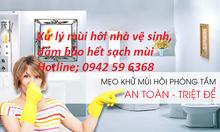 Nhận xử lý mùi hôi nhà vệ sinh tại Hà Nội