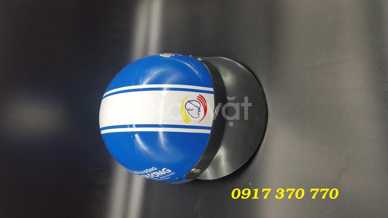 Chuyên làm nón bảo hiểm in logo, thông tin doanh nghiệp theo yêu cầu