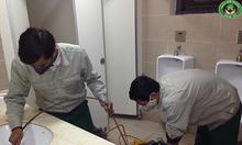 Phục vụ thông tắc toalet giá rẻ tại Hào Nam