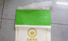 Bao PP dệt ghép OPP bóng đựng gạo 25kg